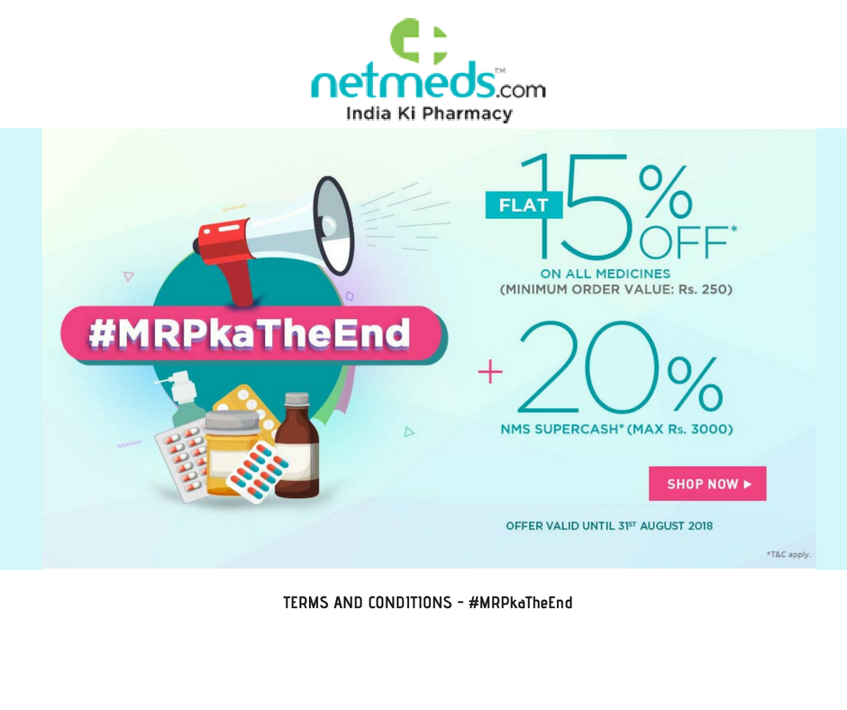 Netmeds Offer Coupons Code
